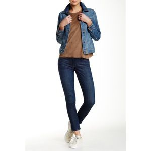 """Genetic """"Solace"""" Cropped Skinny Jeans"""